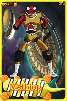 Methiop- Team Universe 10. Dragon ball super