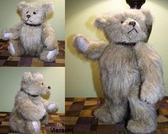 18 Free Patterns to Sew Your Own Teddy Bears: 1907 Teddy Bear