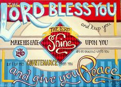The Lord bless you...