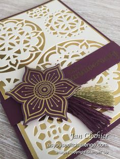 Thinking Stamping: As You See It 150 - DT card