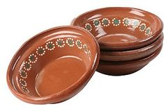 Terracotta Bowls for my Mexican antojitos Hacienda Kitchen, Mexican Stuff, Mexican Kitchens, Cooking Supplies, Treasure Hunting, Mexican Folk Art, Prehistory, Our Wedding Day, Vintage Ceramic