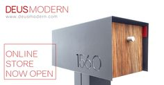 Mailboxes and accessories for modern home