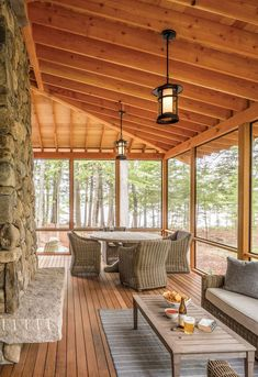 A Maine lake house gives three generations both togetherness and privacy - The Boston Globe Casas Country, Rustic Lake Houses, Small Lake Houses, Small Lake Cabins, Modern Lake House, House By The Lake, Lake Cottage, Maine House, Cabana