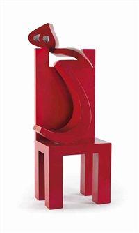Heech and Chair by Parviz Tanavoli