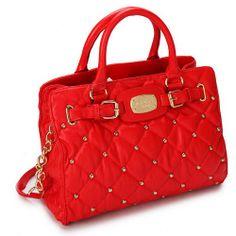 2013 New Michael Kors Handbag Red http://www.mknew.com/2013-new-michael-kors-handbags-mk3589-p-1197.html