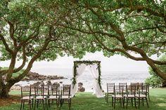 Bliss Maui Wedding - outdoor ceremony