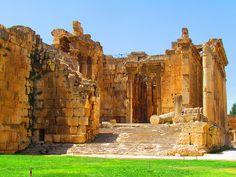 Temple of Bacchus, Baalbek (بعلبك)