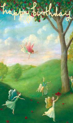 Happy Birthday, by Steve Mackey valley of fairies