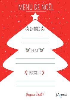 Le repas de Noël, c'est le repas le plus important de l'année dans beaucoup de famille, alors il mérite au moins son joli menu à imprimer ! L'imprimerie du Pôle Nord de Momes vous en a préparer un vêtu de rouge et blanc pour faire comme au restaurant mais à la maison avec les enfants ! Vous allez en épater plus d'un !