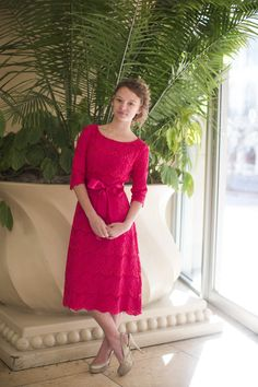 Modest Bridesmaids Dresses / A Night in Paris Dress / Dainty Jewell's -- Your one-stop shop for MODERN modest apparel. #lace