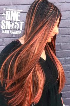 Copper Tones For Long Straight Hair straight long hair, long straight black hair, straight balayage hair ❤ Your straight hair won't look its best until you get to know it. Let us help you find out what type of texture you have so you can treat your locks well. #straighthair #lovehairstyles #hair #hairstyles #haircuts Shot Hair Styles, Curly Hair Styles, Natural Hair Styles, Trendy Hairstyles, Straight Hairstyles, Hairstyles Haircuts, Long Straight Black Hair, Types Of Texture, Hair Dos