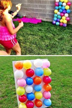 Balão de água