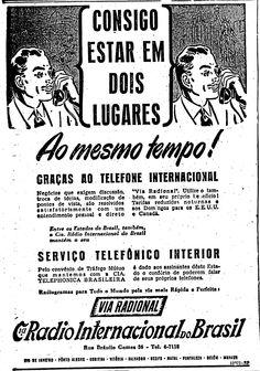 Telefone via ondas de rádio em 17 de julho de 1946