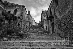 La voce del silenzio - (Poggioreale - Sicily) Fine Art Photography  www.domenicoguddo.it Visit Sicily, Ghost Towns, The World's Greatest, Monument Valley, Fine Art America, Places To Visit, Wall Art, Artwork, Travel