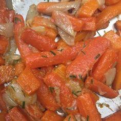 carottes et oignons caramélisés