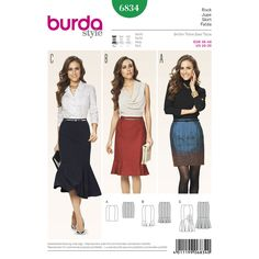 Find a pattern for Burda Style Skirts at Simplicity, plus many more unique patterns. Visit today!