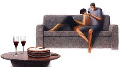 Couples and Cell Phones on Behance