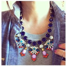 I want pretty: Accesorios- Collares de colores/ Candy necklaces!