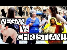 VEGAN VS CHRISTIAN | What Do Christians Think About Veganism?? STREET IN...