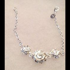 Sterling Silver Rose Bracelet 925 stamped Sterling Silver Rose Bracelet 925 stamped Accessories Scarves & Wraps