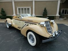 1936 Auburn Boat Tail Speedster 2nd Gerneration 4 Seater Convertible