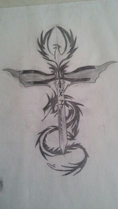 The Phoenix dragon sword early draft