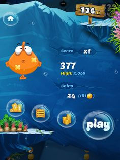 CoolGameScreens: Belly Fish (iPad Game)