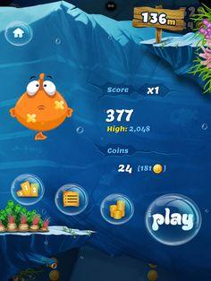 CoolGameScreens: Belly Fish (iPad Game)