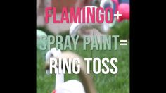 DIY Flamingo Ring Toss                                                                                                                                                                                 More