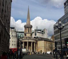 The BBC building wrapped around All Soul's Church legitimately caught my breath today. #LoveLondon . . . #BBCTRAVEL #BBCBritain #London #Marylebone #RegentsStreet