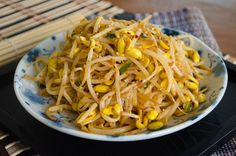 Kongnamul Bokkeum ban chan. This recipe is  excellent, healthy, easy, and importantly...tasty!