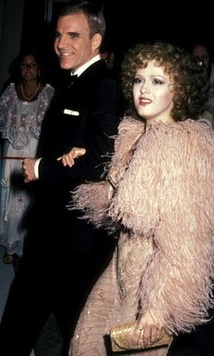 Steve Martin and Bernadette Peters attend the 53rd annual Oscars in 1981