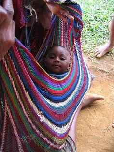 Bilum in Nuova Guinea