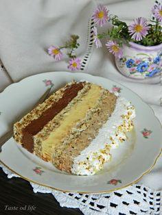 Taste of life: Interkontinental torta Baking Recipes, Cake Recipes, Dessert Recipes, Desserts, Brze Torte, Torte Recepti, Chicken Fajitas, Creative Food, No Bake Cake