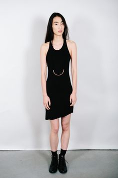 Alternative Apparel Black Racerback Tank Dress – Parc Boutique