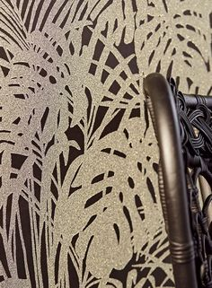 This glamorous glass bead wallpaper is a real sparkly gem for any home. A beautiful glass bead pattern in sparkling silver and gold is emphasised b. Persephone, House Colors, Animal Print Rug, Glass Beads, Material, Rugs, Decoration, Blog, Pattern