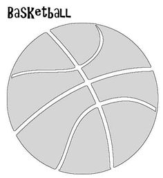 Basketball knows not of gender discrimination. Basketball is fun to play regardless of your skill level. Applique Templates, Applique Patterns, Quilt Patterns, Scrapbook Page Layouts, Scrapbook Pages, Sports Quilts, Sewing Crafts, Sewing Projects, Sport Craft