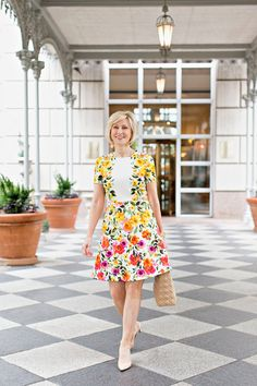 Cheery Yellow Summer Dress From @nordstrom. #ad #nordstrom