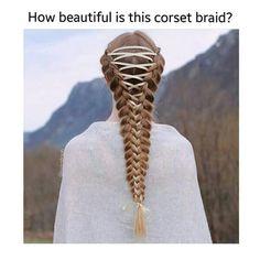 Corset braid
