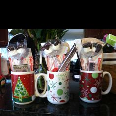 Mary Kay gift ideas. I fix baskets for all occasions and coffee cups etc. Great gifts.
