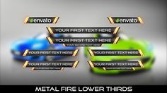 Buy Metal Fire Lower Thirds by MondayMotion on VideoHive. Lower Thirds, Design Inspiration, Design Ideas, Layout, 10 Seconds, Love You, My Love, Text You, Print Design