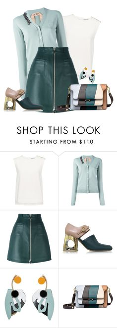 """""""outfit only: autumn wear"""" by faten-m-h ❤ liked on Polyvore featuring Finders Keepers, N°21, Carven and Marni"""