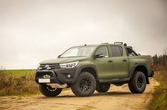 Serious Hilux Arctic Trucks ready for hunting! Toyota 4x4, Toyota Trucks, Lifted Ford Trucks, Toyota Hilux, Pickup Trucks, Toyota Tacoma Accessories, 4x4 Accessories, Best Off Road Vehicles, Mitsubishi Cars