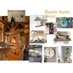 Rustic home decor.