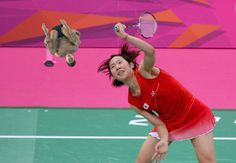 20 Photos Of Olympic Badminton Players Swatting Divers Like They're Flies