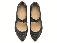 Magie Black shoes Flats Leather Shoes by TamarShalem on Etsy, $158.00