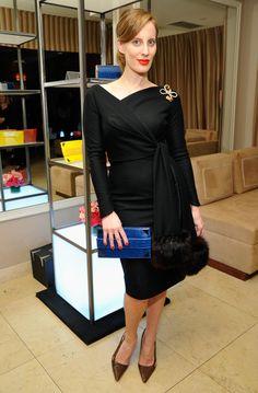 Liz Goldwyn found her new Devi Kroell bag for the summer