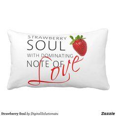 Strawberry Soul Lumbar Pillow