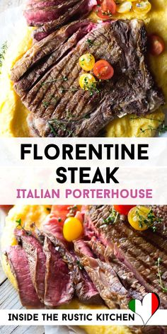 Italian Risotto Recipe, Italian Dinner Recipes, Risotto Recipes, Italian Stew, Porterhouse Steak, Thing 1, How To Cook Steak, Rustic Kitchen, Night