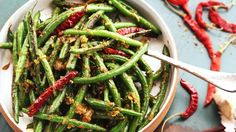 Make Delicious, SnappySichuan Green Beans Without a Wok